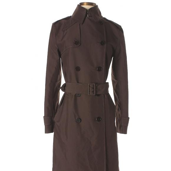 a323382f Ralph Lauren Black Label brown Trench Coat